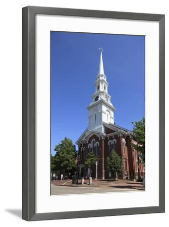 North Church, Portsmouth, New Hampshire, New England, United States of America, North America-Wendy Connett-Framed Photographic Print