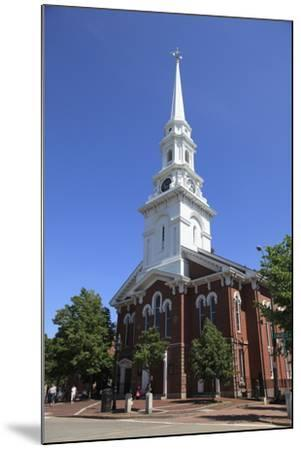 North Church, Portsmouth, New Hampshire, New England, United States of America, North America-Wendy Connett-Mounted Photographic Print