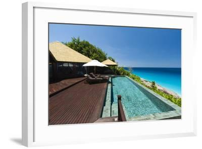 Fregate Island Resort, Seychelles, Indian Ocean, Africa-Sergio Pitamitz-Framed Photographic Print