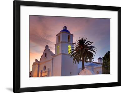 Mission San Luis Rey, Oceanside, California, United States of America, North America-Richard Cummins-Framed Photographic Print