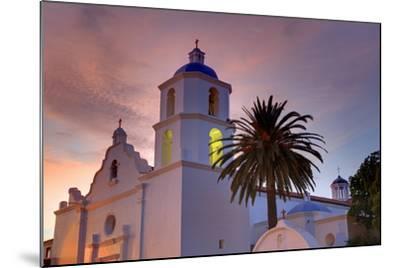 Mission San Luis Rey, Oceanside, California, United States of America, North America-Richard Cummins-Mounted Photographic Print
