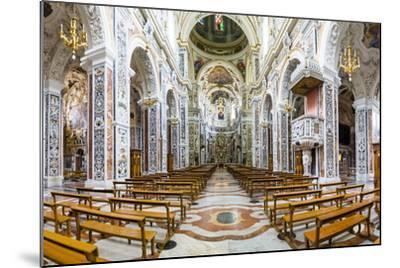 Interior of the Church of Saint Mary of Gesu (Chiesa Del Gesu) (Casa Professa)-Matthew Williams-Ellis-Mounted Photographic Print