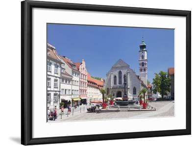 Fountain at the Market Square-Markus Lange-Framed Photographic Print