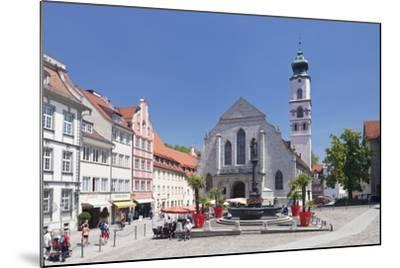 Fountain at the Market Square-Markus Lange-Mounted Photographic Print