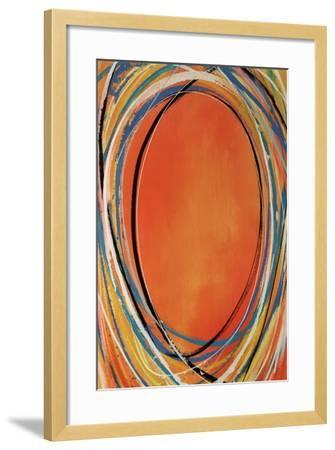 Spindle Round-Sydney Edmunds-Framed Giclee Print