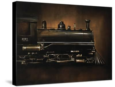 Steam Engine-Sydney Edmunds-Stretched Canvas Print