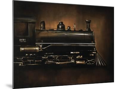 Steam Engine-Sydney Edmunds-Mounted Giclee Print
