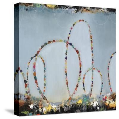 Roller Coaster Rainbow-Sydney Edmunds-Stretched Canvas Print