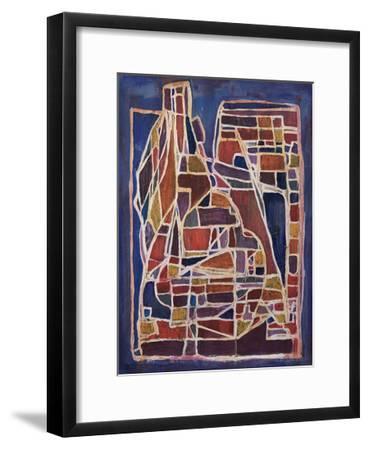 Articulated Color VII-Joshua Schicker-Framed Giclee Print