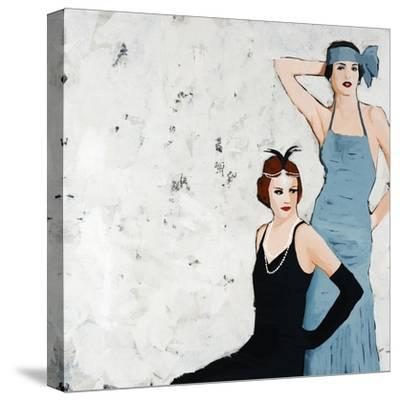 Flappers-Clayton Rabo-Stretched Canvas Print