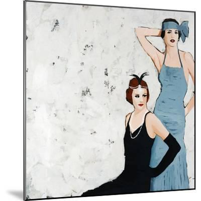 Flappers-Clayton Rabo-Mounted Giclee Print