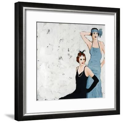 Flappers-Clayton Rabo-Framed Giclee Print