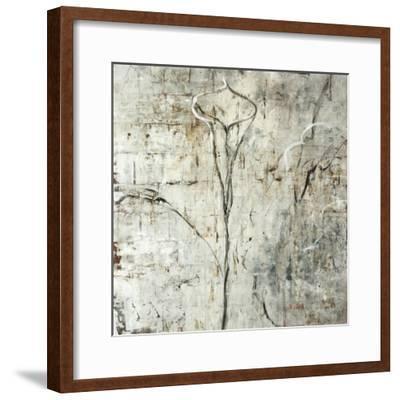 Silver Calla Lily-Jodi Maas-Framed Premium Giclee Print