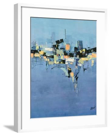 Happy Town II-Farrell Douglass-Framed Giclee Print
