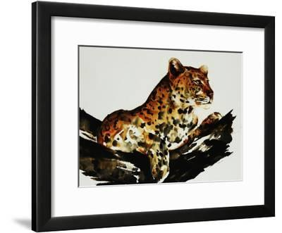 Safari Series I-Sydney Edmunds-Framed Giclee Print