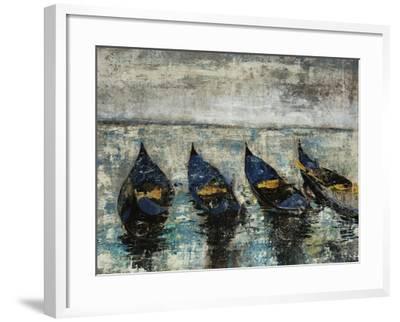 Indigo Boats-Alexys Henry-Framed Giclee Print