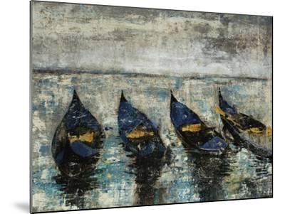 Indigo Boats-Alexys Henry-Mounted Giclee Print
