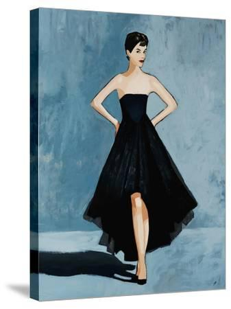All About the Dress-Clayton Rabo-Stretched Canvas Print