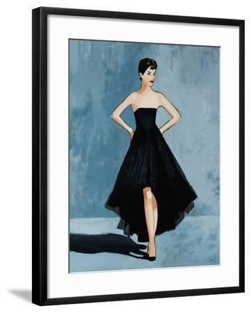 All About the Dress-Clayton Rabo-Framed Giclee Print