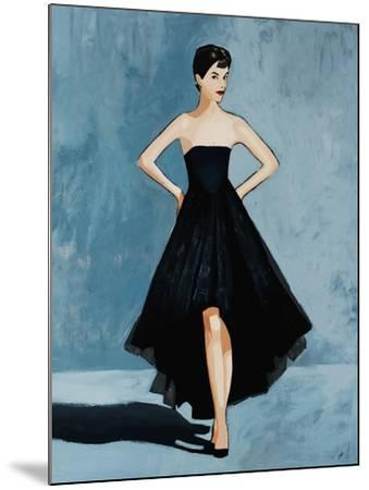 All About the Dress-Clayton Rabo-Mounted Giclee Print