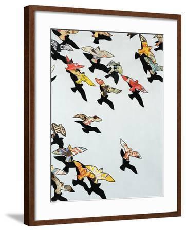 Retro Flight-Sydney Edmunds-Framed Premium Giclee Print