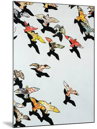 Retro Flight-Sydney Edmunds-Mounted Premium Giclee Print