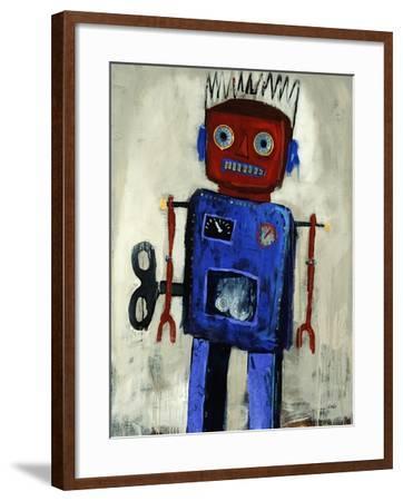 Iron Man-Clayton Rabo-Framed Giclee Print