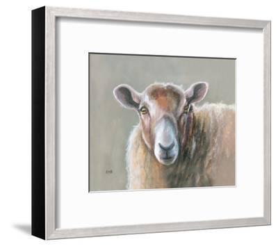Looking Sheepish-Louise Brown-Framed Giclee Print