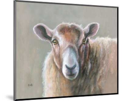 Looking Sheepish-Louise Brown-Mounted Giclee Print