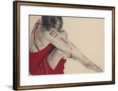 Red III-Trudy Good-Framed Giclee Print