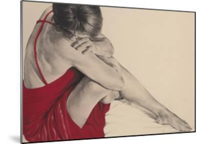 Red III-Trudy Good-Mounted Giclee Print