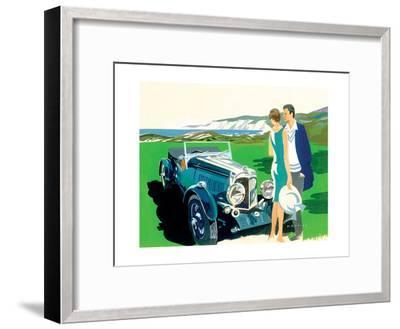Rival Attraction-Mike Maurice-Framed Giclee Print