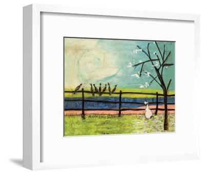 Doris and the Birdies-Sam Toft-Framed Giclee Print