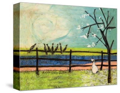 Doris and the Birdies-Sam Toft-Stretched Canvas Print
