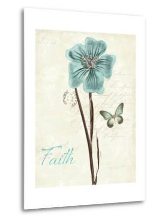 Slated Blue III Faith-Katie Pertiet-Metal Print