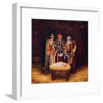 Wise Men Still Seek Him-Mark Missman-Framed Art Print