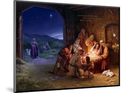 Light of the World - Saviour-Mark Missman-Mounted Art Print