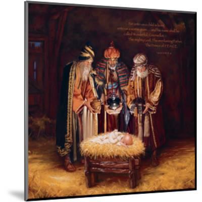 Wise Men Still Seek Him - Prince of Peace-Mark Missman-Mounted Art Print