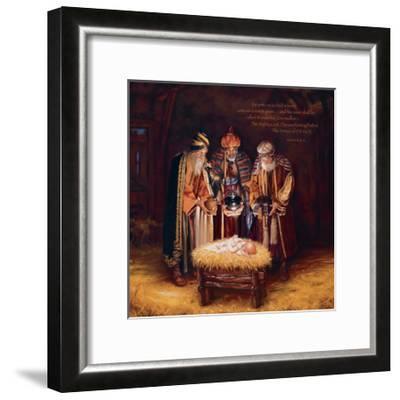Wise Men Still Seek Him - Prince of Peace-Mark Missman-Framed Art Print