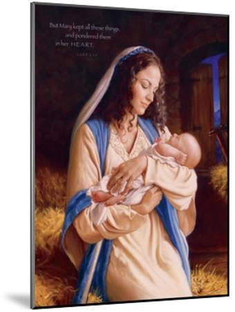 Heaven's Perfect Gift - Heart-Mark Missman-Mounted Art Print