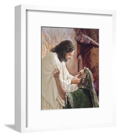 Through the Eyes of Faith-Mark Missman-Framed Art Print
