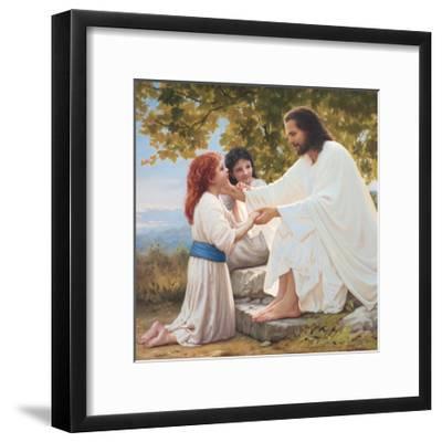 The Pure Love of Christ-Mark Missman-Framed Art Print