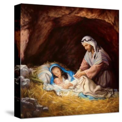 Sleep in Heavenly Peace-Mark Missman-Stretched Canvas Print
