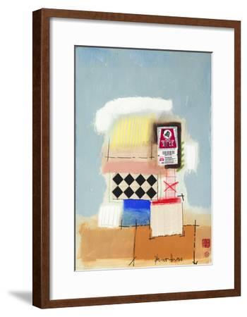 Freie Fahrt Collage-Bruno Haas-Framed Premium Giclee Print