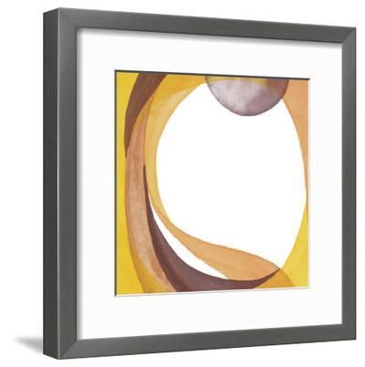 Brown Geometric I-Chris Paschke-Framed Premium Giclee Print