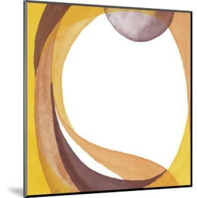 Brown Geometric I-Chris Paschke-Mounted Premium Giclee Print
