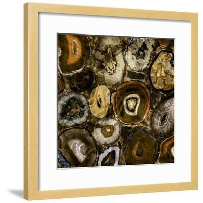 Rainbow Agate A--Framed Premium Photographic Print