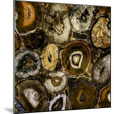 Rainbow Agate A--Mounted Premium Photographic Print