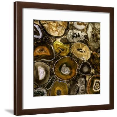 Rainbow Agate B--Framed Premium Photographic Print