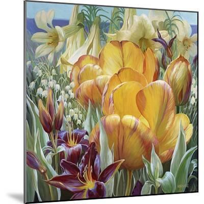 Palisade Garden-Elizabeth Horning-Mounted Premium Giclee Print